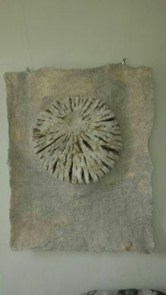 Felt wall hanging - Tree of Life - Lilian van den Einden