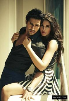 Nargis Fakhri and Varun Dhawan Photoshoot for Stardust Magazine April 2014