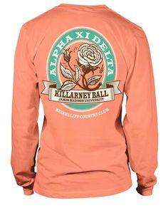 Alpha Xi Delta Formal T-shirt