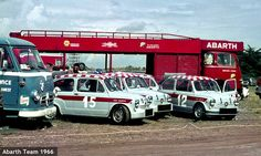 Abarth team 1966
