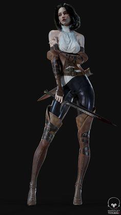 Female Character Design, Character Design Inspiration, Character Concept, Character Art, Concept Art, Fantasy Female Warrior, Female Armor, Warrior Girl, Fantasy Art Women