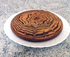 Zebra cake vanille-chocolat (Gâteau zébré / tigré) #MyCookDiary