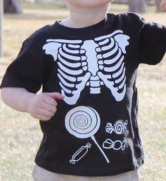 Skeleton xray kids shirt tee match xray by BabytalkDesigns on Etsy