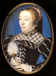 Caterina de 'Medici, daughter of Lorenzo II de' Medici and of Madeleine de la Tour d'Auvergne. (Florence, April 13, 1519 - Castle of Blois, 5 January 1589)