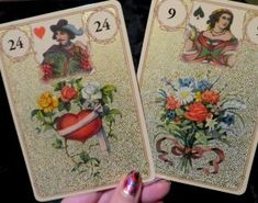 Golden Lenormand Oracle is one of those golden layered deluxe LS decks. Great in many respects, but one big minus. Oracle Cards, New Age, Decks, Sword, Tarot, Queen, Tools, Pretty, Instruments