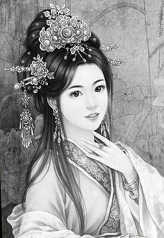 female faces -  drawing face - realistic drawings - art