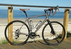 Found: Astir Frames' Australian-built custom titanium bicycles - Bikerumor Titanium Bike, Building Companies, Road Bikes, Frames, Bicycle, Ring, Beauty, Bike, Rings