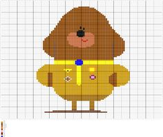 Hey Duggee Crochet Afghan Tapestry and C2C Pattern, Written and Graph Pattern, Vector PDF Digital Files by FADesignCharts on Etsy https://www.etsy.com/uk/listing/502565363/hey-duggee-crochet-afghan-tapestry-and