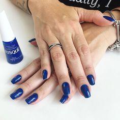 Risqué Azul Hortênsia - #RisquéDaSemana