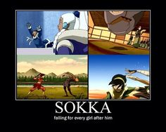 oh sokka *cough cough*  TOKKA FOR THE WIN!  @jhappybutterfly