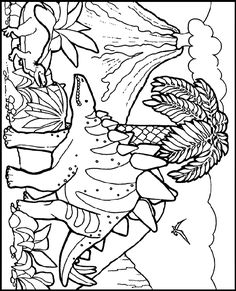 Dinosaur Coloring Pages (14) | Coloring Pages | Pinterest ...