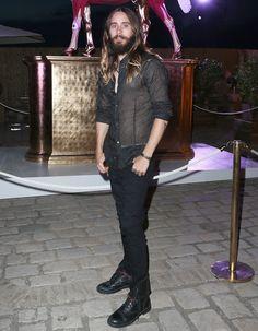Jared Leto  in St Tropez for Leonardo Di Caprio's Foundation #sttropez #golfesttropez
