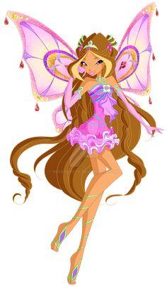 Winx Club Season 8 Enchantix by Rosesweety on DeviantArt Club Das Winx, Bloom Winx Club, H2o Mermaid Tails, Winx Magic, Les Winx, Doll Drawing, Arte Indie, Flora Winx, Club Poster