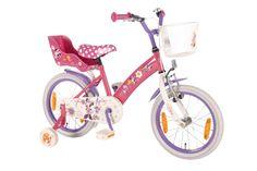 Disney Minnie Mouse Bow-Tique is onder alle meisjes uiterst gewild. Wij hebben een hele mooie Minnie meisjesfiets gemaakt. In prachtige kleurstelling zacht Roze met poppenzitje achter, mandje voor. Met frisse witte bandjes. Welk meisje wil deze fiets nu niet?