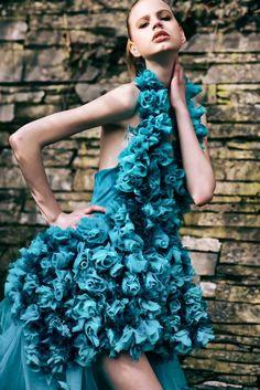 Model :Maja  louisa-models Mua/hair :Suhellen Ampuero Villafuerte Fashion Designer :Valentina Braun Photo :Nicholas Javed