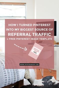 As of the beginning of 2016, my goal was to get more involved into Pinterest, and I believe I finally hacked its secrets! Pinterest is currently my No. 1 source of referral traffic. It beats all the other social media platforms I use when it comes to bringing readers and potential customers to my blog. Click through to find out how I turned Pinterest into my biggest source of referral traffic. (blogging tips, pinterest tips, blog tips, blogging for money)
