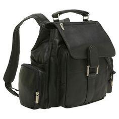 AmeriLeather Jumbo Leather Backpack | Leather backpacks, Products ...