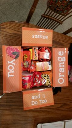 For my baby girl.....i miss you care package