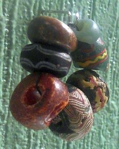 Glass Beads, Iron Age, Norway, See table 1 no. 1