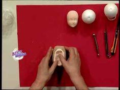 Jorge Rubicce - Bienvenidas TV - Modela en porcelana fría modelados de cara y cabeza. - YouTube