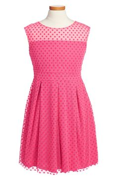 Pippa & Julie Polka Dot Sleeveless Dress (Big Girls) available at #Nordstrom