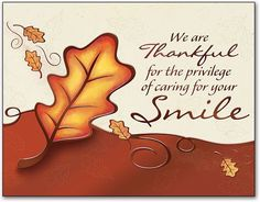 We hope you have a great Thanksgiving!  #thankfulforourpatients #RDC - http://ift.tt/1HQJd81