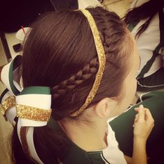 that perfect softball hair