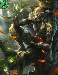 Quivering Treefolk