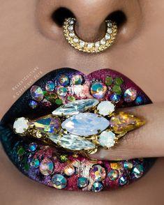 Rumaisa Fake septum nose ring available on Regentcouture.com. …