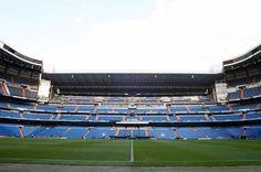 General View of Santiago Bernabeu - Real Madrid Stadium Credit: Action Images / Scott Heavey