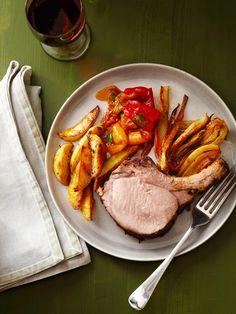 Tuscan Roast Pork With Fennel Recipe : Food Network Kitchens : Food Network - FoodNetwork.com