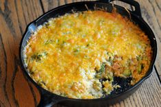 Cheesy Broccoli and Brown Rice Casserole is one of the favorites