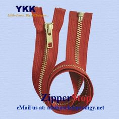 Items similar to 24 inch - Brass Metal Teeth Zipper - Number 5 - Separating - Hot Red - 519 - Genuine YKK Zippers - Jackets, Coats, Outerwear on Etsy Deep Purple, Teal Blue, Stephanie Brown, Number 5, Mocca, Peacock Blue, Pearl Grey, Brass Metal, Off Colour