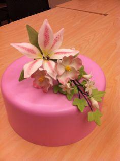 My Wilton Course 4 final bouquet