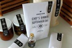 sideshow press | italian picnic basket invite for chef's dinner #barbaralynch