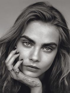 'The Face' Cara Delevingne by Alasdair McLellan for UK Vogue January 2014 [Editorial] - Fashion Copious
