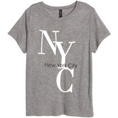 T-shirt med tryck 99 via Polyvore featuring tops and t-shirts