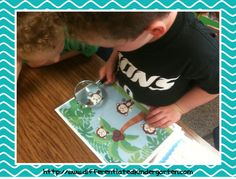 great begnning of year center! A Differentiated Kindergarten: Differentiated Word Work and A Freebie-Kinder Daily 5 Book Study Chapter 6