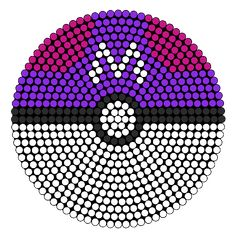 Master Ball bead pattern