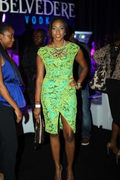 Genevieve Nnaji Latest Evening Dresses