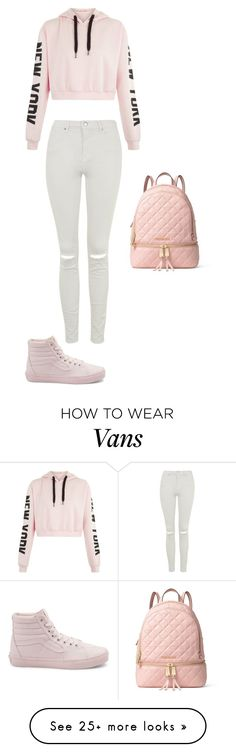 """Без названия #250"" by ayakayrzhan on Polyvore featuring Topshop, Vans and MICHAEL Michael Kors"