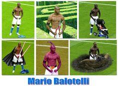Mario Balotelli - a man of many talents (www.facebook.com/3in1football)