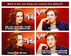 """The whole Twilight thing aside, Robert Pattinson is a pretty funny guy."" 