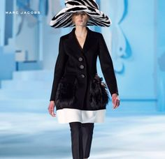 Fabulous Marc Jacobs jacket for 2012 Winter fashion runway!