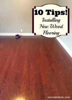 10 tips for installing new wood flooring