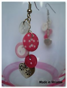 Made in Velanne: Boucles d'oreille et broches...