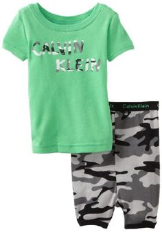 Calvin Klein Baby-Boys Infant CK Set B, Green, 24 Months - http://www.discoverbaby.com/maternity-clothes/sleepwear/calvin-klein-baby-boys-infant-ck-set-b-green-24-months/