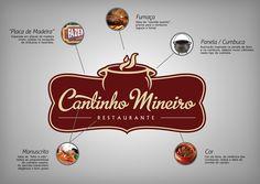 Logotipo Restaurante Cantinho Mineiro by Leandro Lima, via Behance