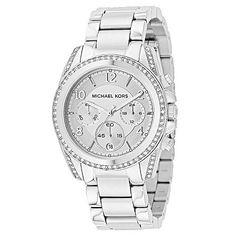 Michael Kors Women s Blair Quartz Chronograph Stainless Steel Bracelet  Watch ShopHQ.com Michael Kors Kello 8b664076ff