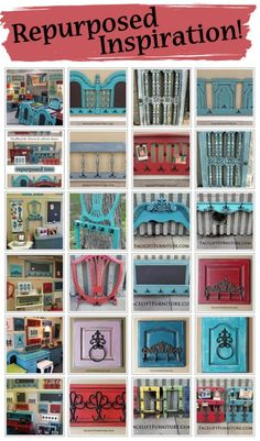 Find inspiration and DIY ideas for repurposing dated and discarded vintage furniture. From Facelift Furniture's DIY blog.